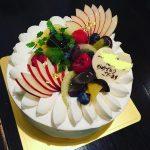 甘美処 柊 バースデーケーキご注文例