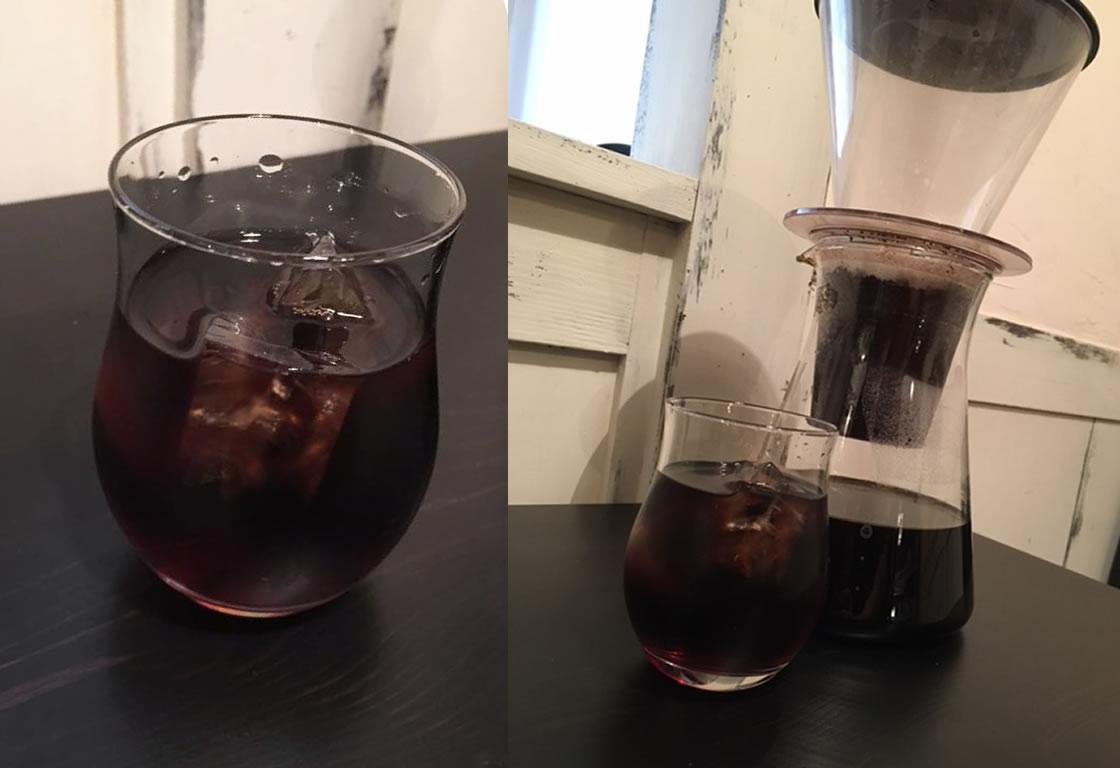 雫取りアイスコーヒー