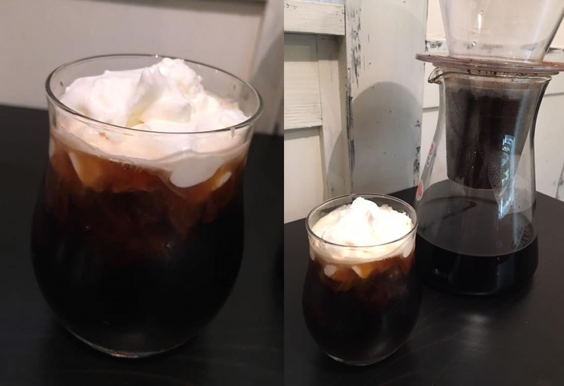 雫取りウインナーコーヒー