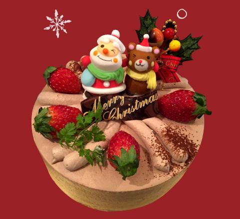 生チョコクリームケーキ