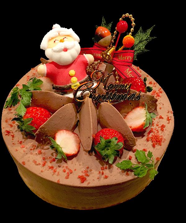 クリスマスケーキ 生チョコクリーム