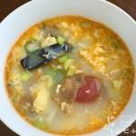 ザーサイとたまごのスープ